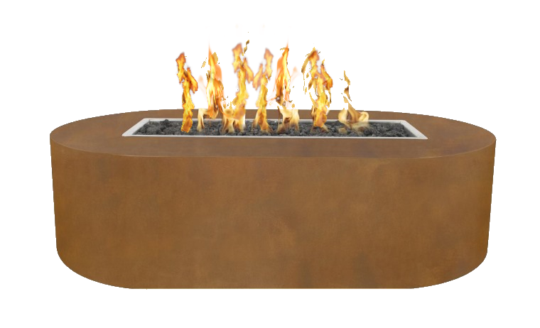 Bispo corten steel fire pit