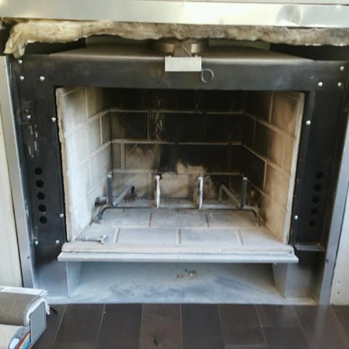 What not to do when replacing your fireplace door.