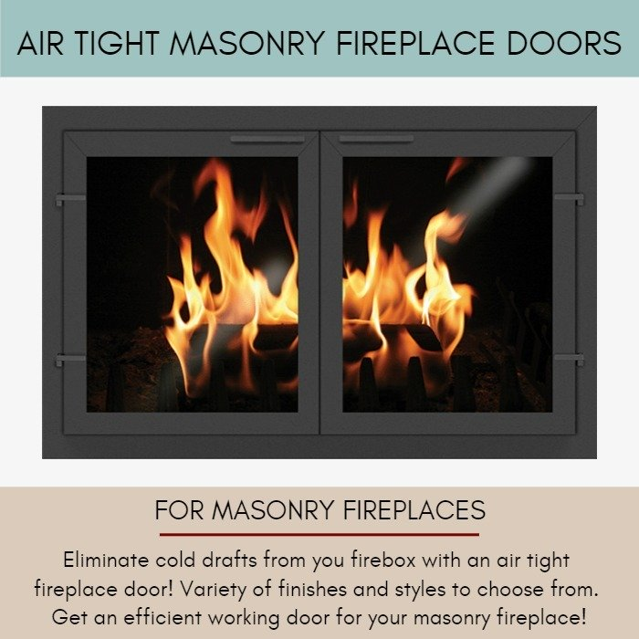 Air Tight Doors For Masonry Fireplaces