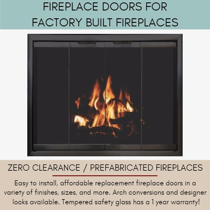Fireplace Doors for factory built fireplaces