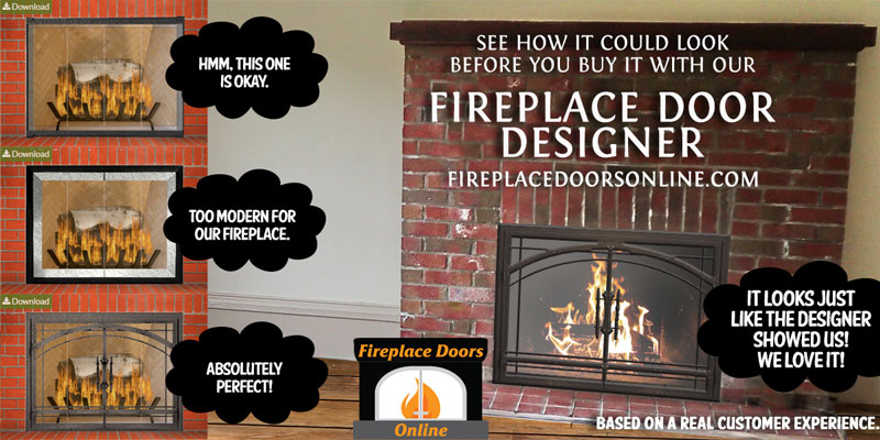Fireplace Door Designer
