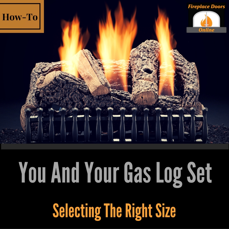 How to measure your fireplace for a gas log set