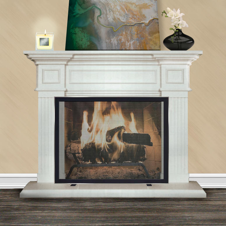 Recreate the look of M Night Shyamalan's Bathroom Fireplace!