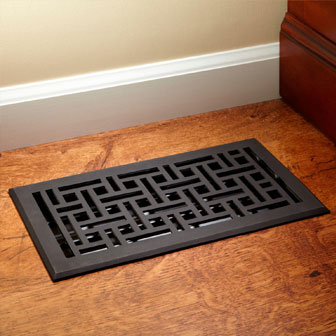 Clean your vents and ducts for spring cleaning.