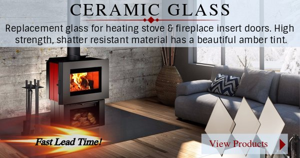 Ceramic glass is now available at Fast Replacement Glass!