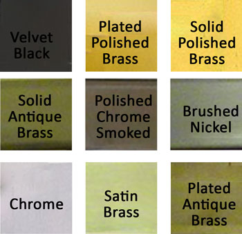 What finish color would you like?