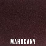Mahogany powder coat finish for fireplace doors