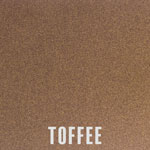 Toffee powder coat finish for fireplace doors