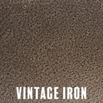 Vintage Iron powder coat finish for fireplace doors