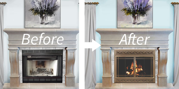 Refacing A Fireplace Home Decor