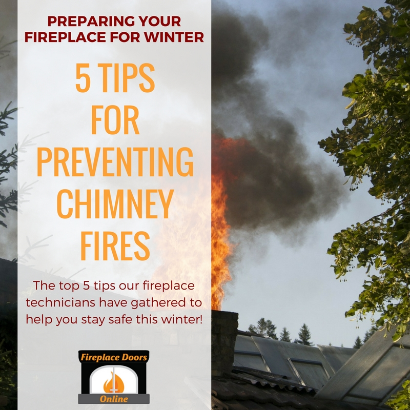 5 tips for preventing chimney fires