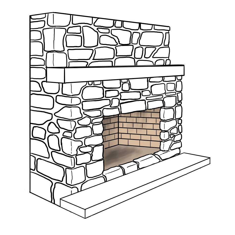 Raised Firebox Illustration