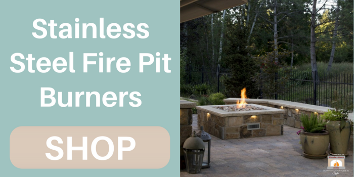 Shop Stainless Steel Fire Pit Burner Rings