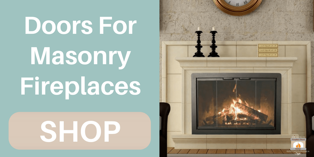 Click here to shop doors for masonry fireplaces