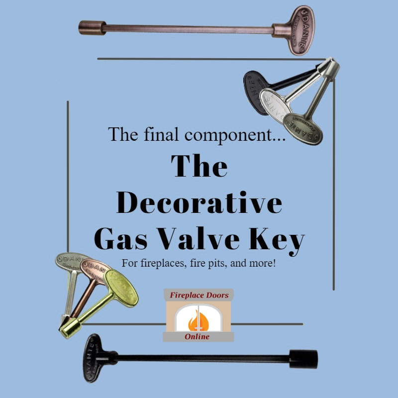 The Decorative Gas Valve Key!