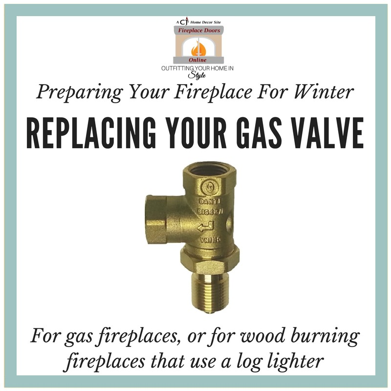 How to replace your gas valve for your fireplace