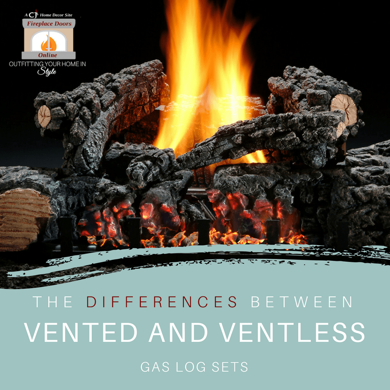 The Differences Between Vented & Ventless Gas Log Sets