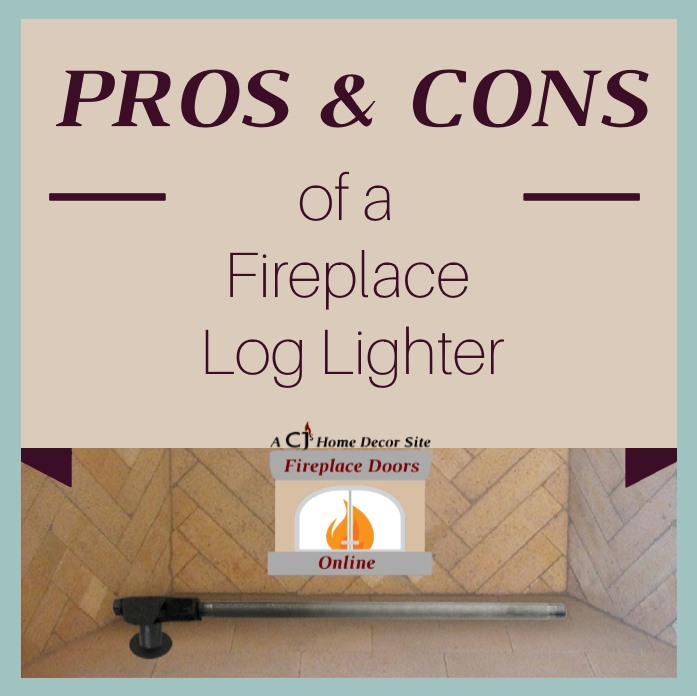 The Pros & Cons of a fireplace log lighter