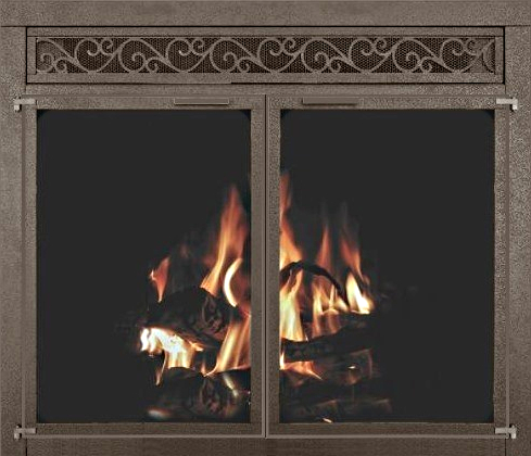 Fireplace Grate Heaters Doors With, Cozy Grate Fireplace Heater Reviews