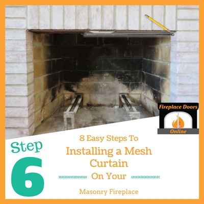 Step 6: Mark your fireplace