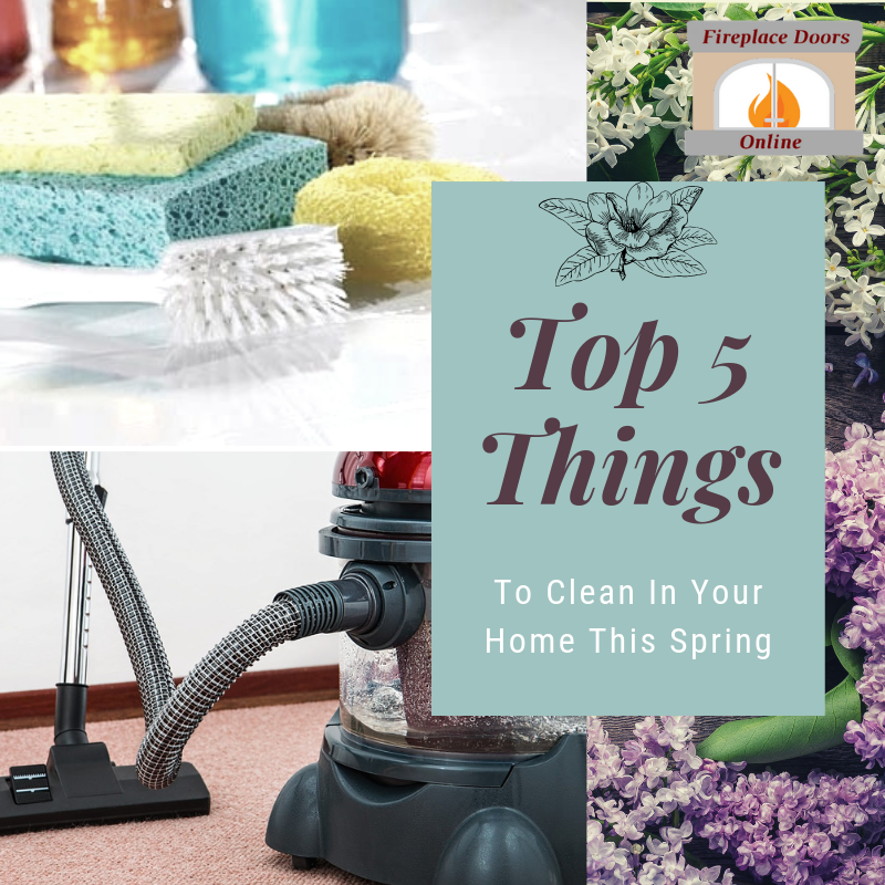 Top 5 things to clean in your home this spring!