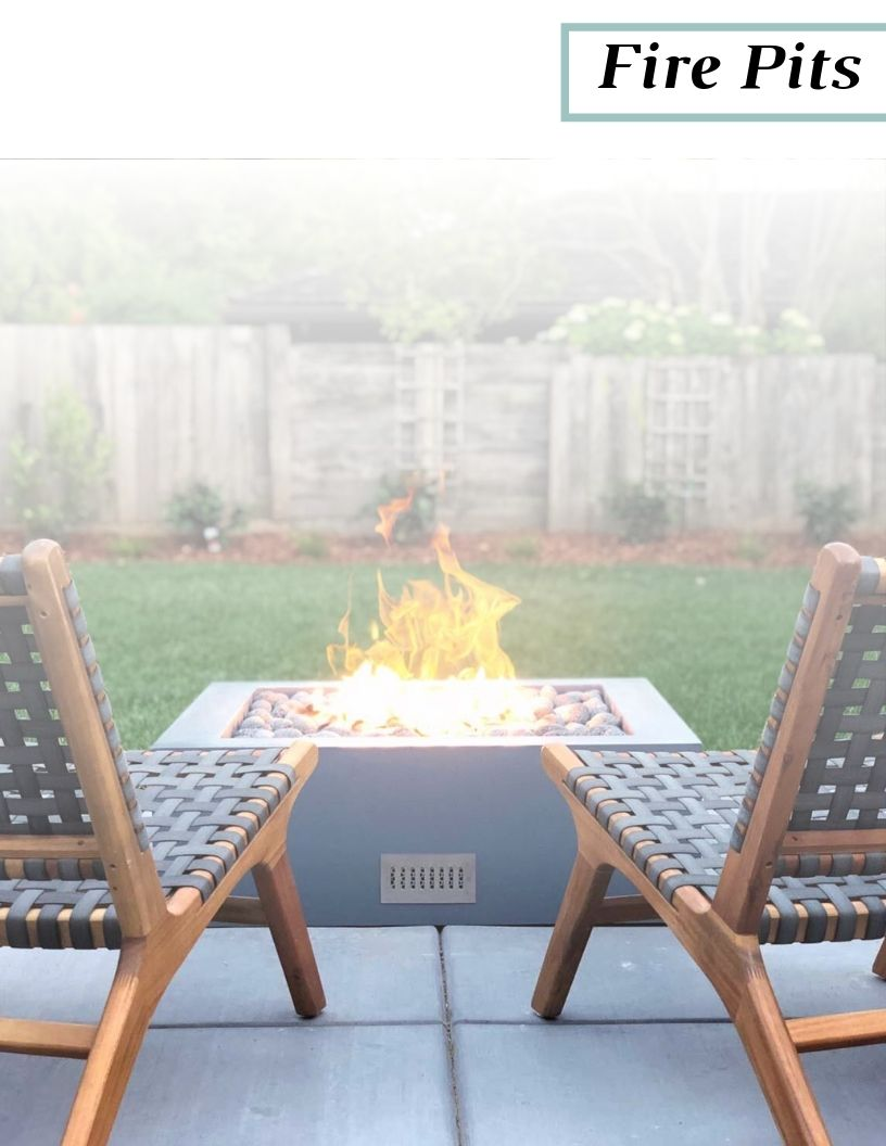Outdoor Living 2019 Fire Pits Catalog Cover Contractor Version