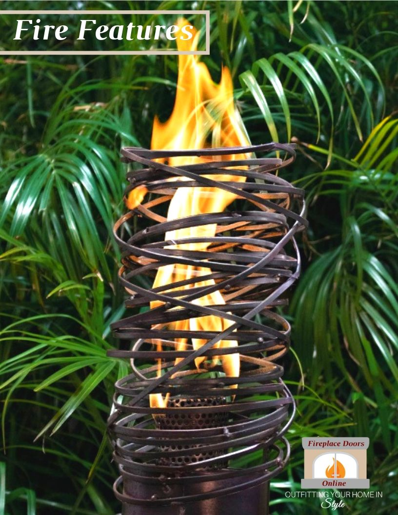 Outdoor Living 2019 Fire Features Catalog Cover Web Version