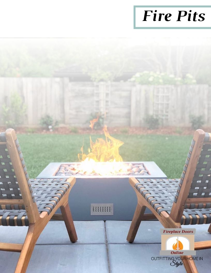 Outdoor Living 2019 Fire Pits Catalog Cover Web Version