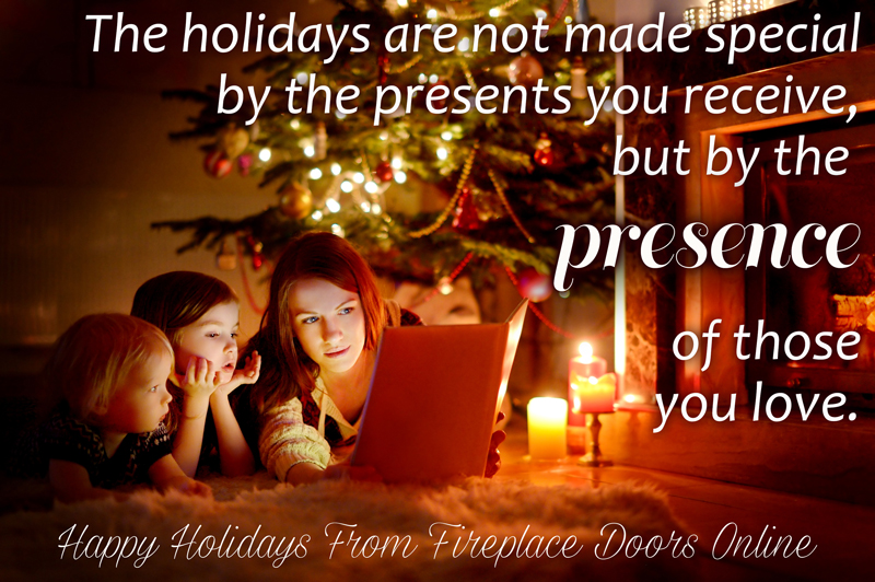 Happy Holidays from Fireplace Doors Online!