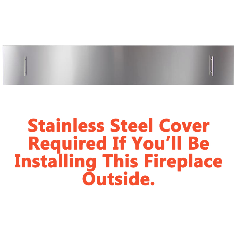 When purchasing for outdoor use, a cover is required.