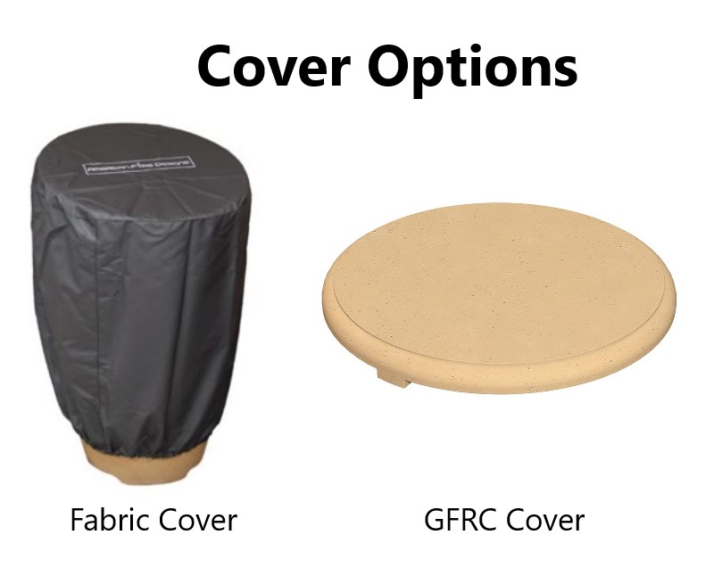 Fire Urn Cover Options