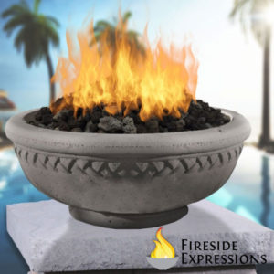Concrete fire bowl - caring for your fire bowl
