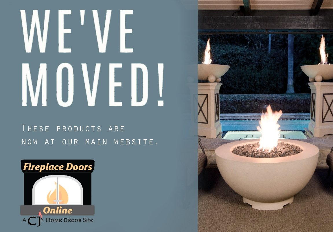 All Fire Bowls are now on our main website, Fireplace Doors Online.
