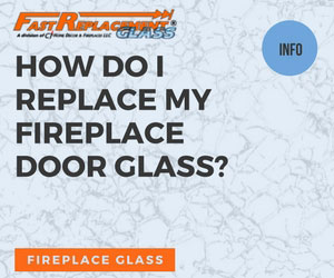 How do I replace my fireplace door glass - Fast Replacement Glass answers your questions!