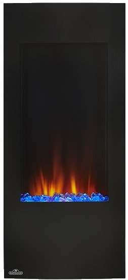 Napoleon 38 Inch Azure Vertical Electric Fireplace