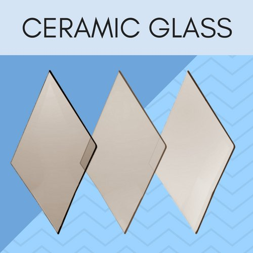 Ceramic glass for coal stoves, wood stoves, gas stoves, pellet stoves, & fireplace inserts.