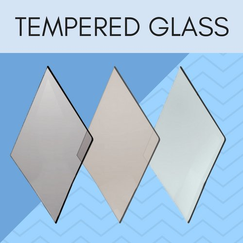 Tempered glass for fireplaces.