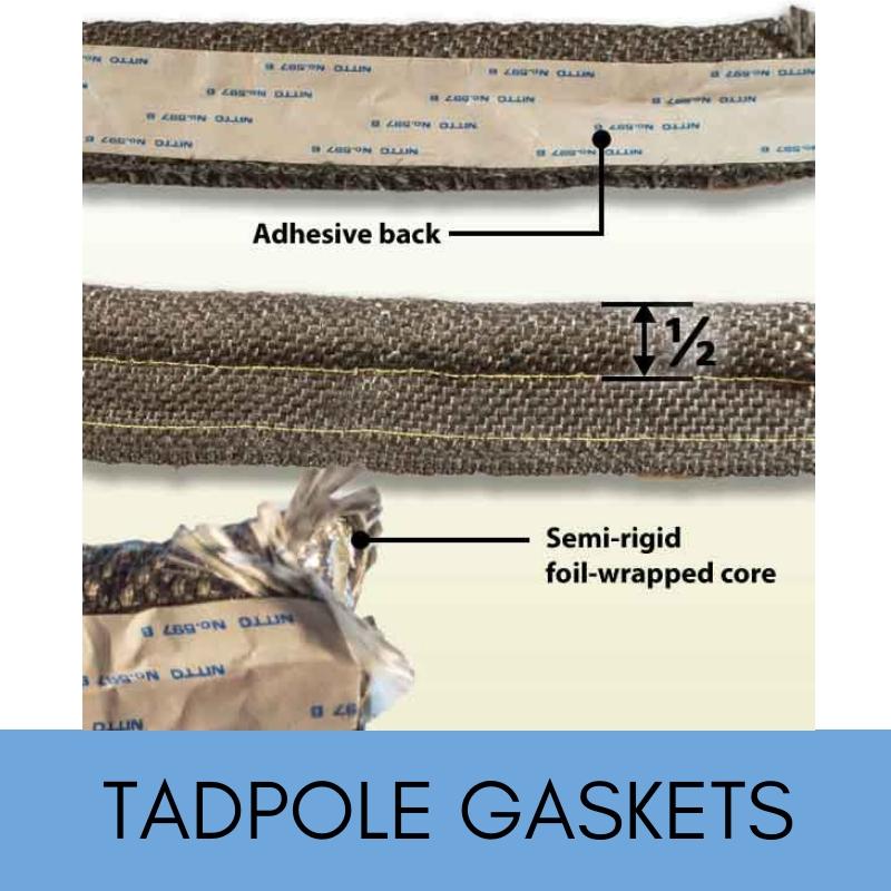 Tadpole stove gaskets