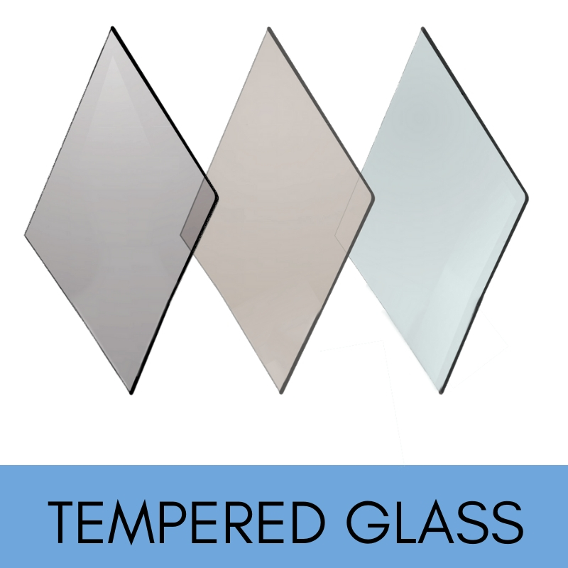 Tempered replacement heat reistant glass