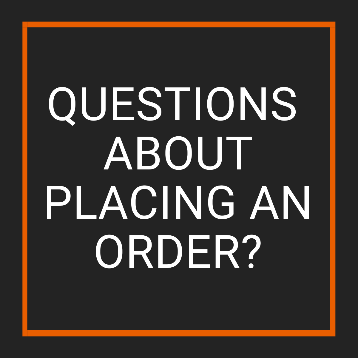 Questions about placing an order? - Fast Replacement Glass
