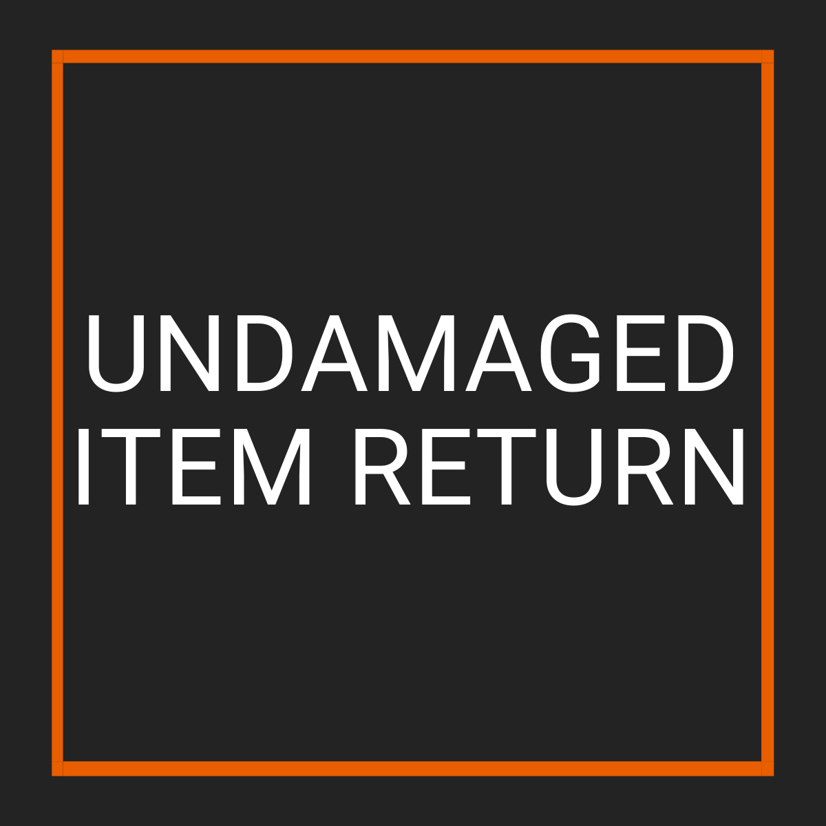 Undamaged Item Returns - Fast Replacement Glass