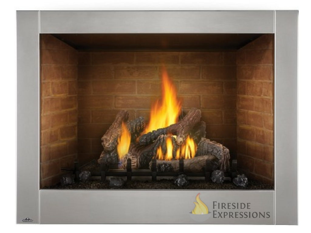Variety of outdoor fireplaces, from wood burning, gas burning, and electric