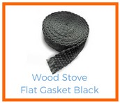 Shop Black Flat Wood Stove Gasket!