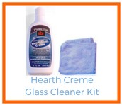 Shop for Hearth Creme Glass Cleaner Kit!