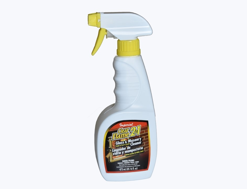 Clear Flame Glass Cleaner 16 Ounce