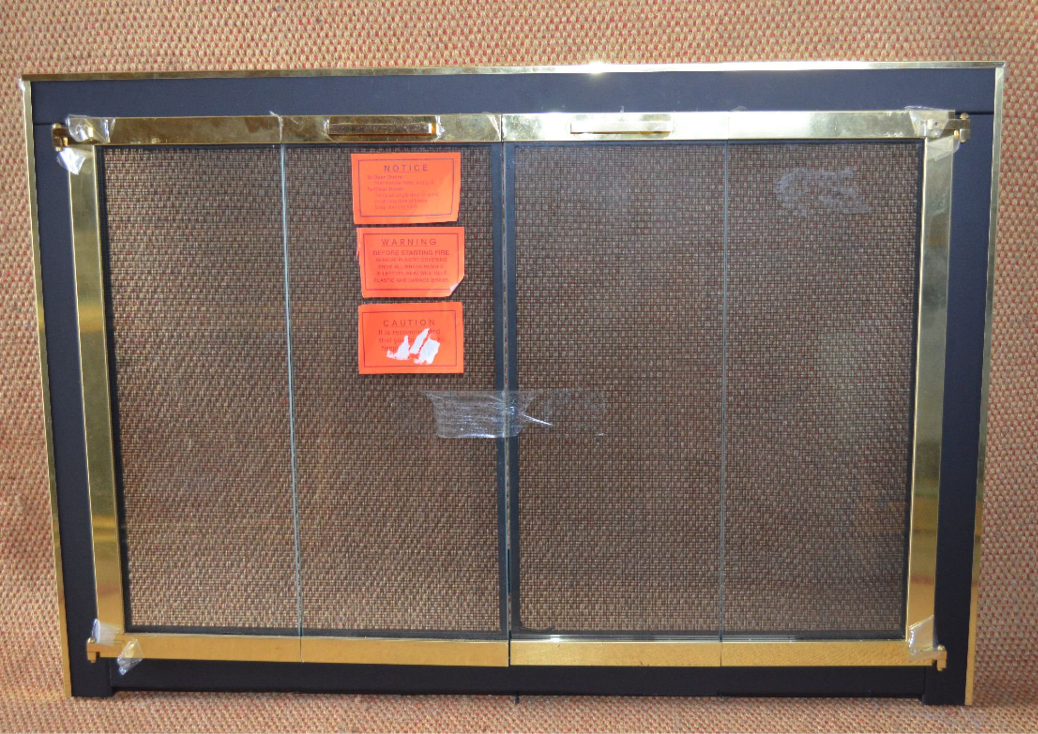 home depot fireplace doors free baby proof fireplace screen fire