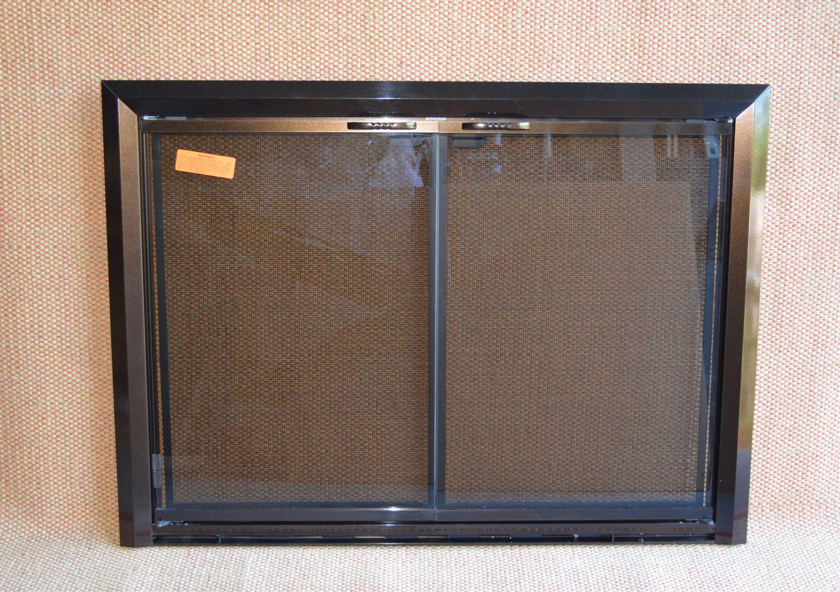 4029 Bronze Apex Fireplace Door
