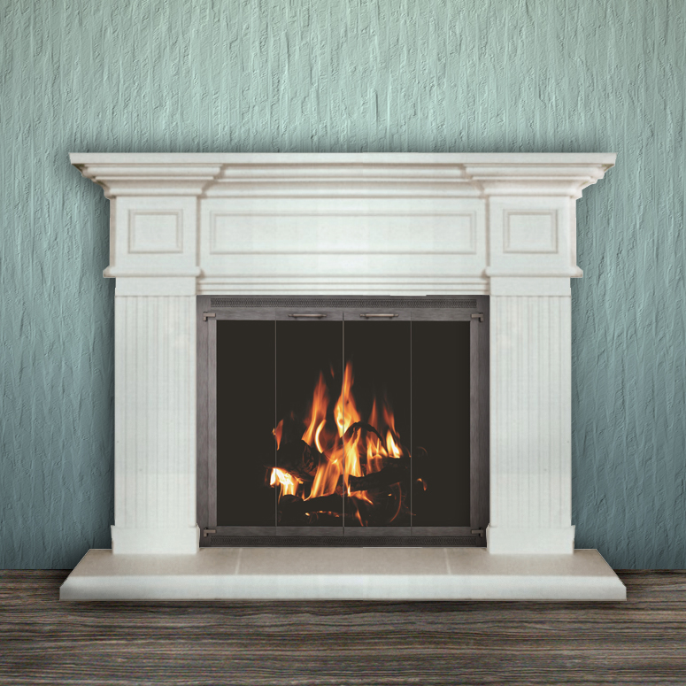 Pre Made Fireplace Mantels Pre Made Fireplace Mantel Surround Kits For Sale Prices