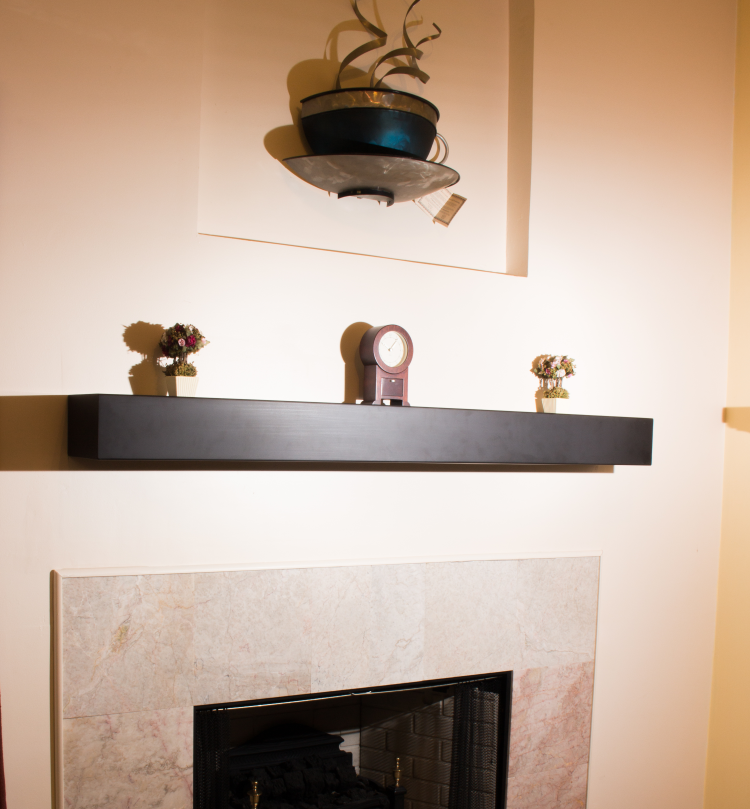 Steel Fireplace Mantel Shelf You Can, Stainless Steel Fireplace Mantel