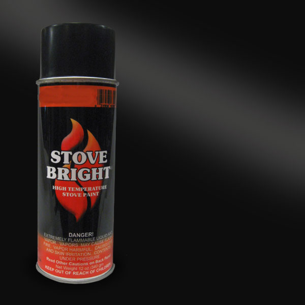 Satin Black Stove High Temperature Spray Paint